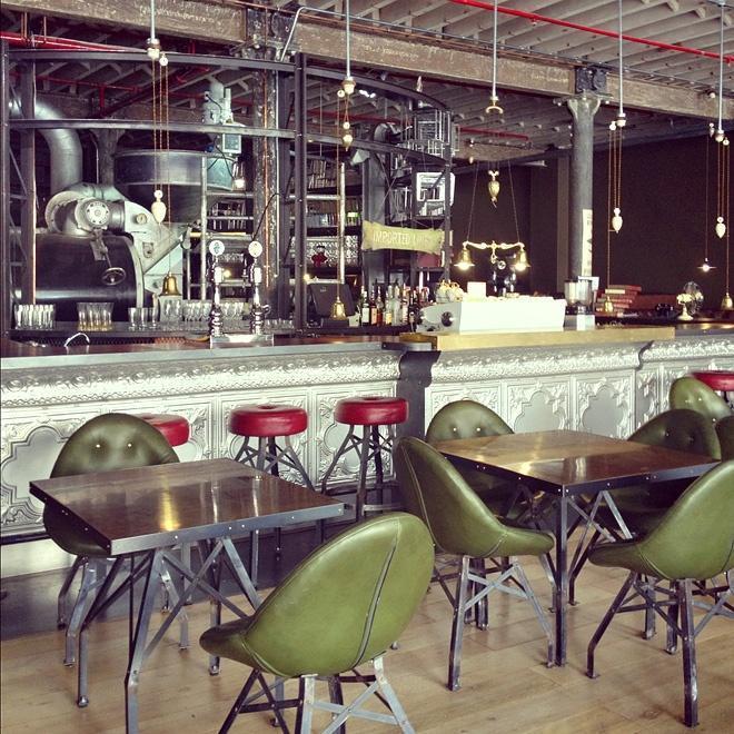 Steampunk Coffee Bar Kitchen