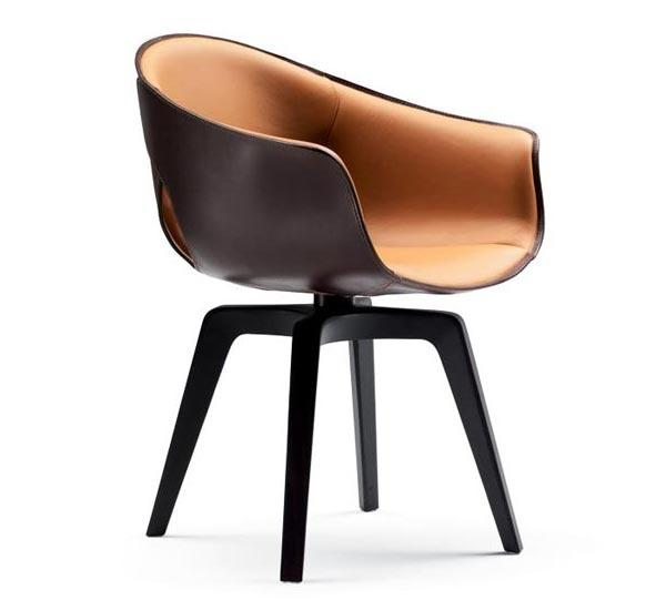 Italian contemporary chair - with modern designer concept