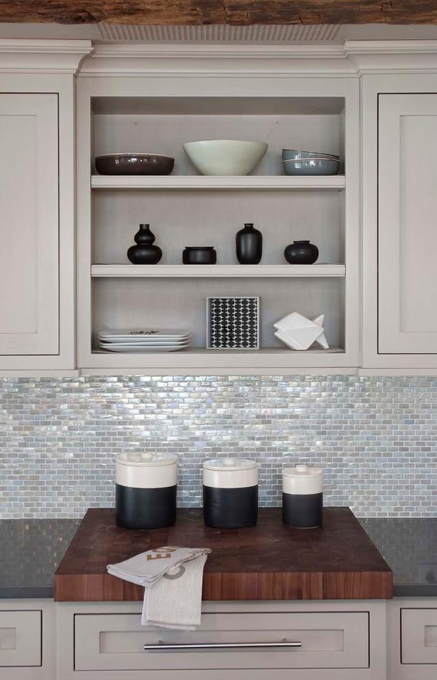 Kitchen shelves - for spices and kitchenware