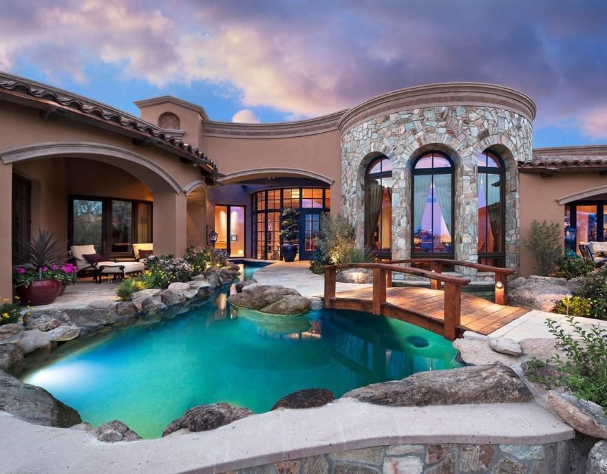 Luxurious And Elegant Traditional Mansion Interior Design Founterior
