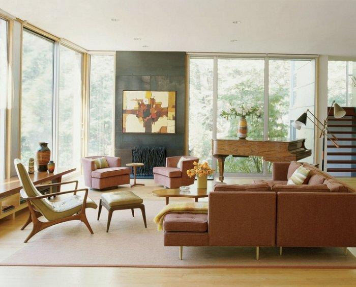 Contemporary Makeover of a Mid-Century Modern Home