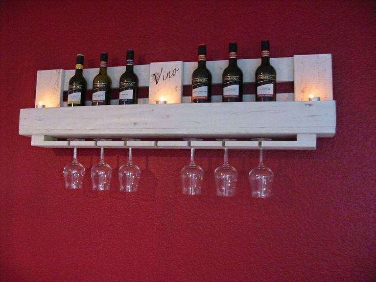 20 euro palettes furniture ideas interior inspiration - Weinregal palette ...