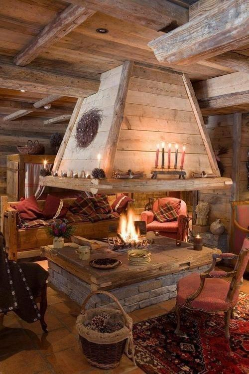Rustic living room - with amazing details