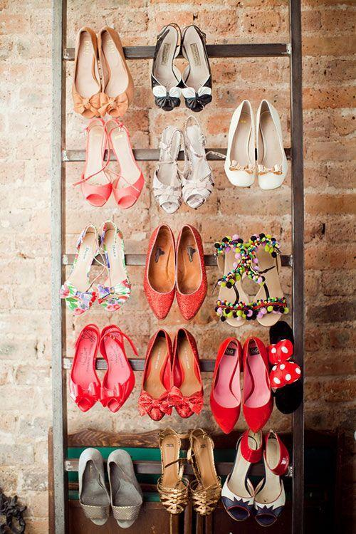 Shoes rack for better organization of shoes