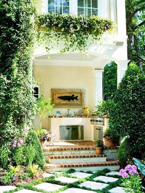 Interior design photos part 1 founterior for Outdoor summer kitchen