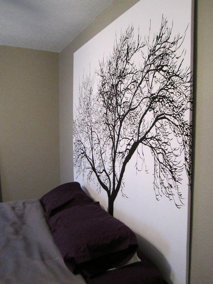 Tree wall art - adding a stylish Japanese touch