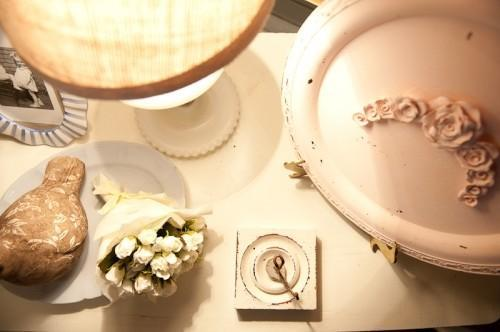 Vintage decorative items - reminding of old romantic times