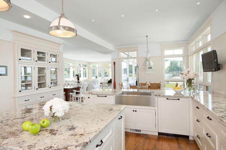 White kitchen - with beatiful spacious interior