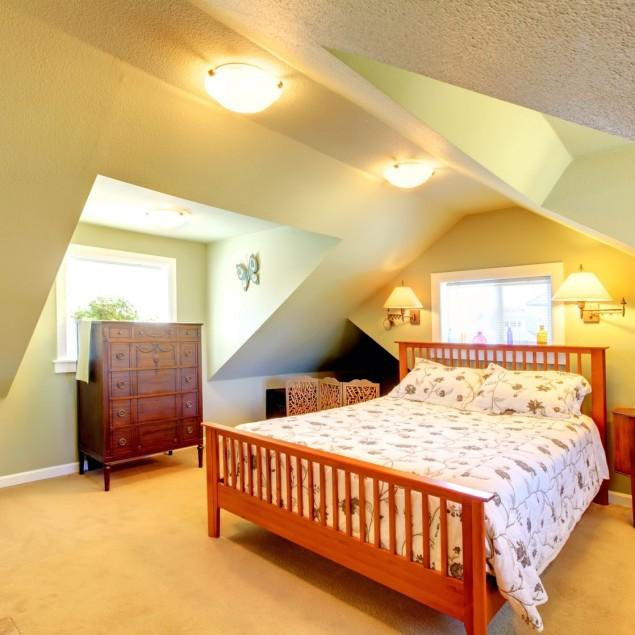 Inspiring Attic Bedroom Design Ideas