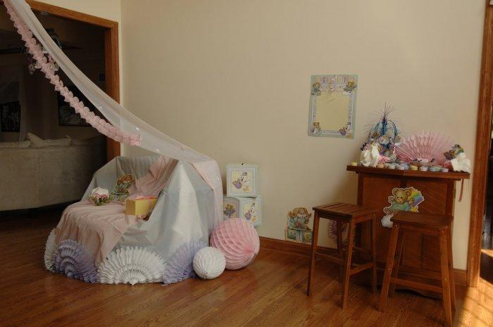 Baby shower party - with a lot of decorative items