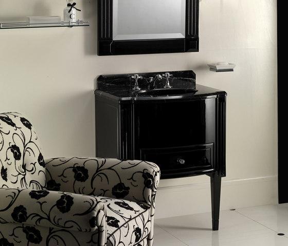 Black bathroom vanity - for a traditional interior
