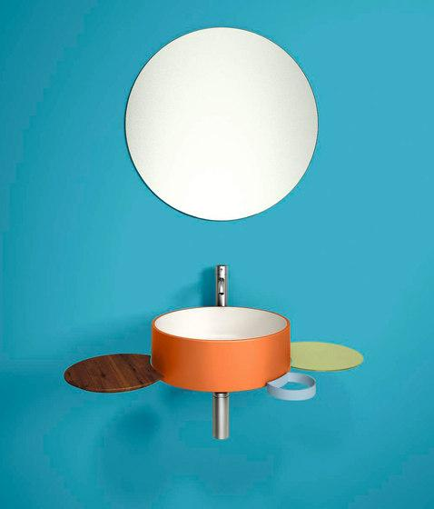 Colorful sink design - for a playful interior