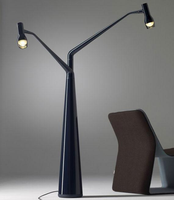 Floor lamps in modern and contemporary design founterior for Lamp design