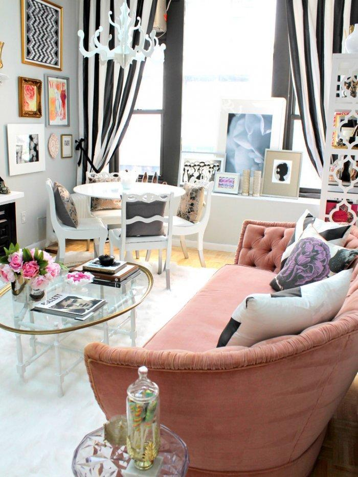 Cozy Urban Small Apartment With Shabby Chic Details