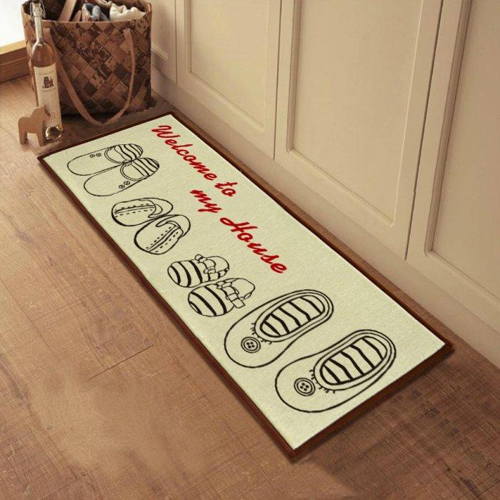Welcome Mats For Gorgeous Home Entry Door Founterior