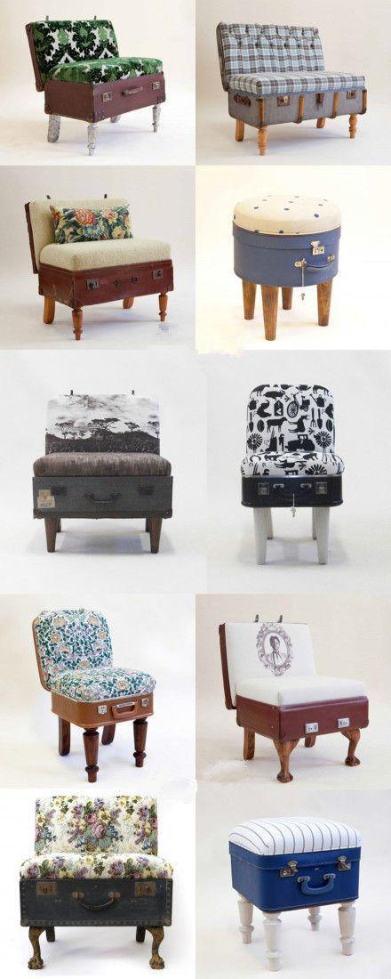 Creative armchairs - for living room design