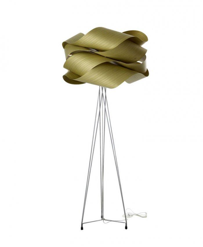 Creative concept floor lamp - with interesting curves