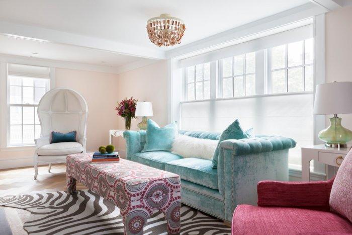 Feng shui room - with zebra rug