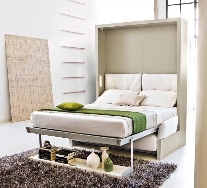 Furniture Interior View Space Saving Designs For Small: Wall Beds And Murphy Beds