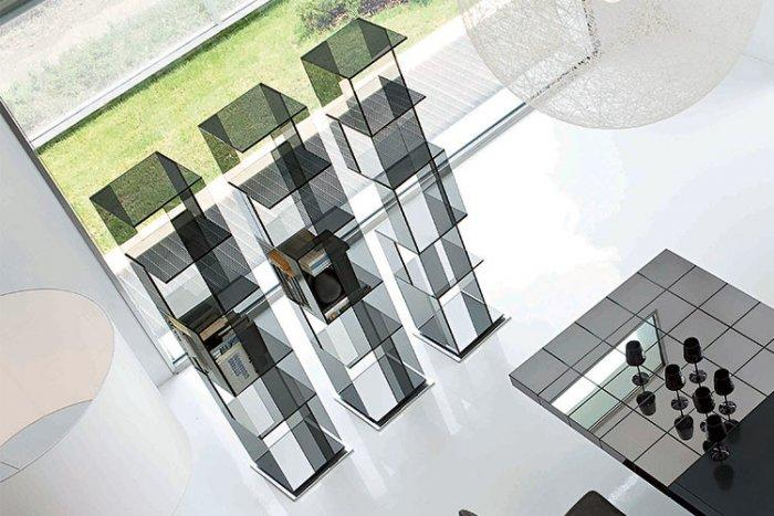 Glass bookcase - concept design