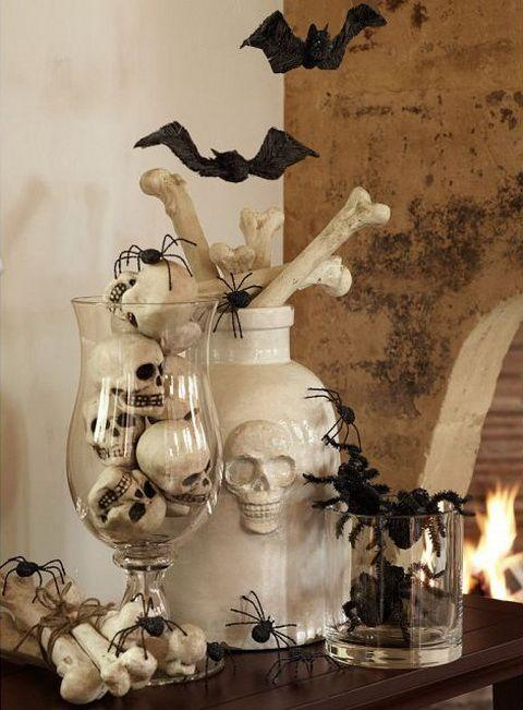 Halloween bats - and skulls and spiders