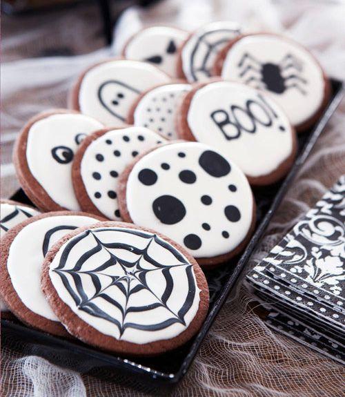 Halloween cookies - for the children at the door