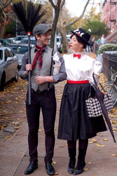 Halloween costumes for couples - stylish and elegant