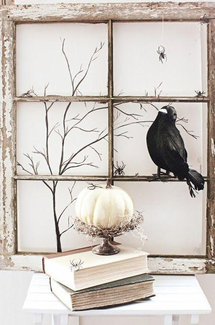 halloween decorations how to achieve a spooky interior - Raven Halloween Decorations