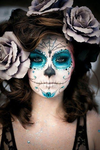 Halloween Costume Ideas  For Kids and Adults Founterior - Womens Halloween Face Makeup
