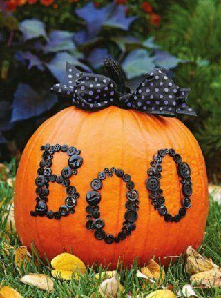 Halloween pumpkin decoration - for spooky party