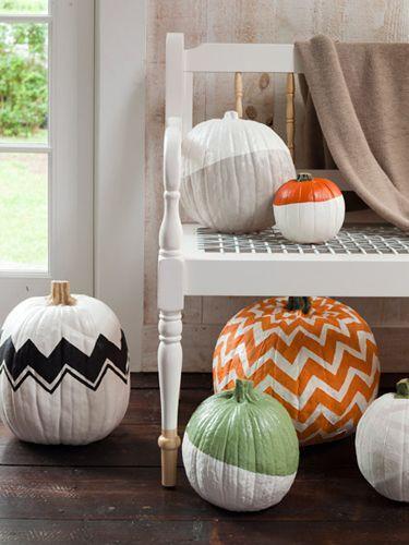 Halloween pumpkins - in various colors