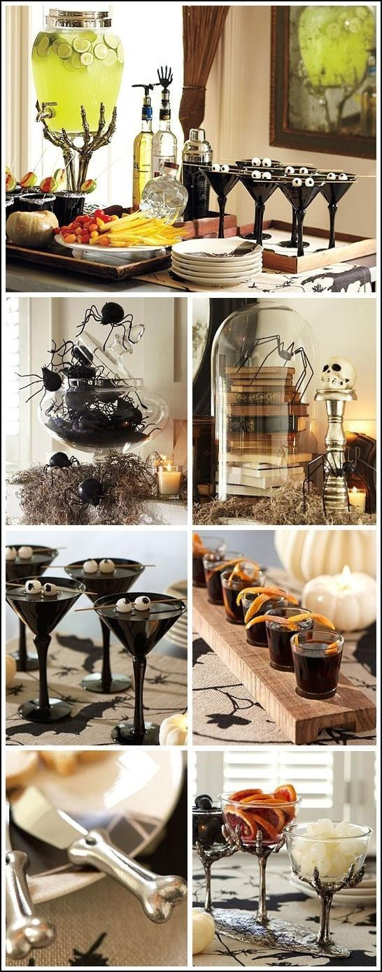 Halloween setting - for unique home party