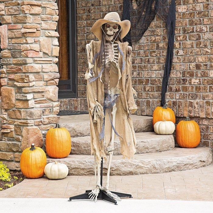 Halloween Yard Skeleton In Front