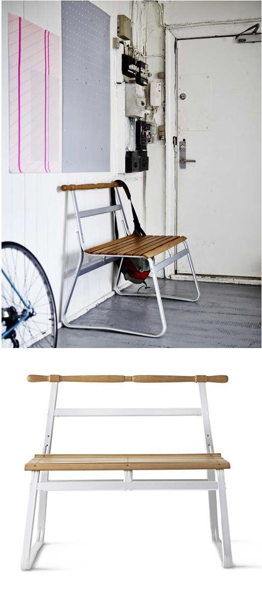 Hallway bench - with creative and interesting modern design