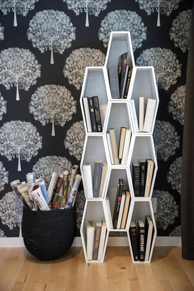 Honeycomb bookcase - with oval shaped cells