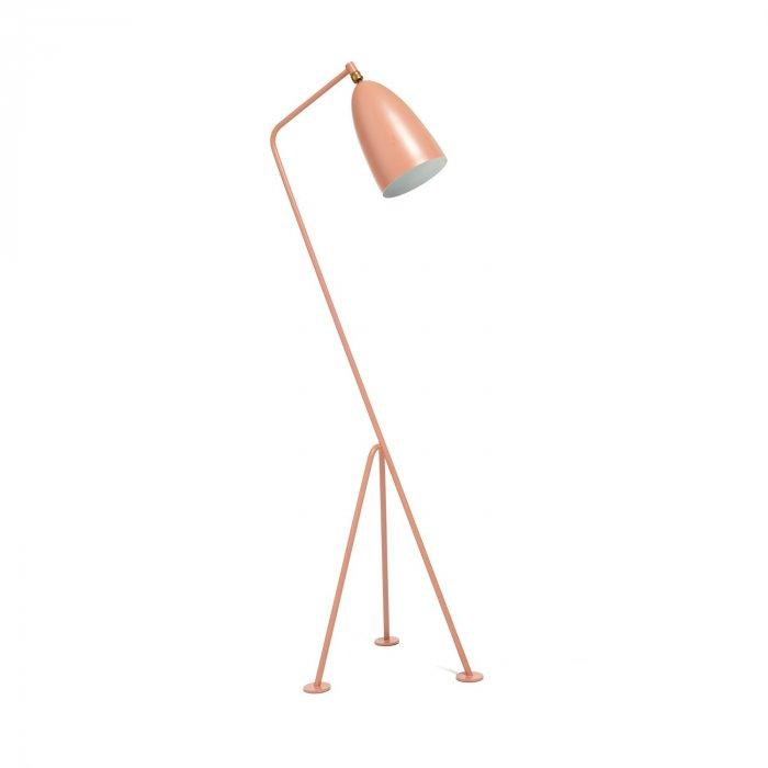 Interesting pink lamp - with long body