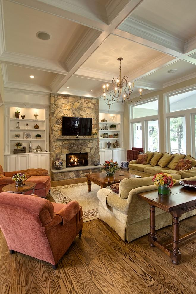 Living room interior design ideas for your home founterior for Living room ideas oak