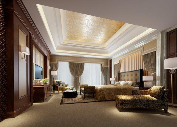 Luxury bedroom design ideas and furniture founterior for Pics of luxury bedrooms