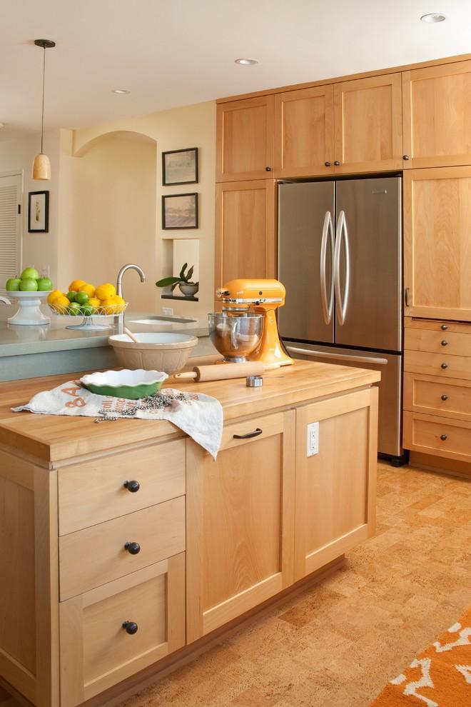 Cork Tile Flooring Warm And Attractive Design Ideas Founterior