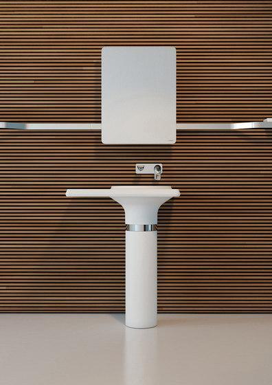 Modern bathroom sink - inside a contemporary interior