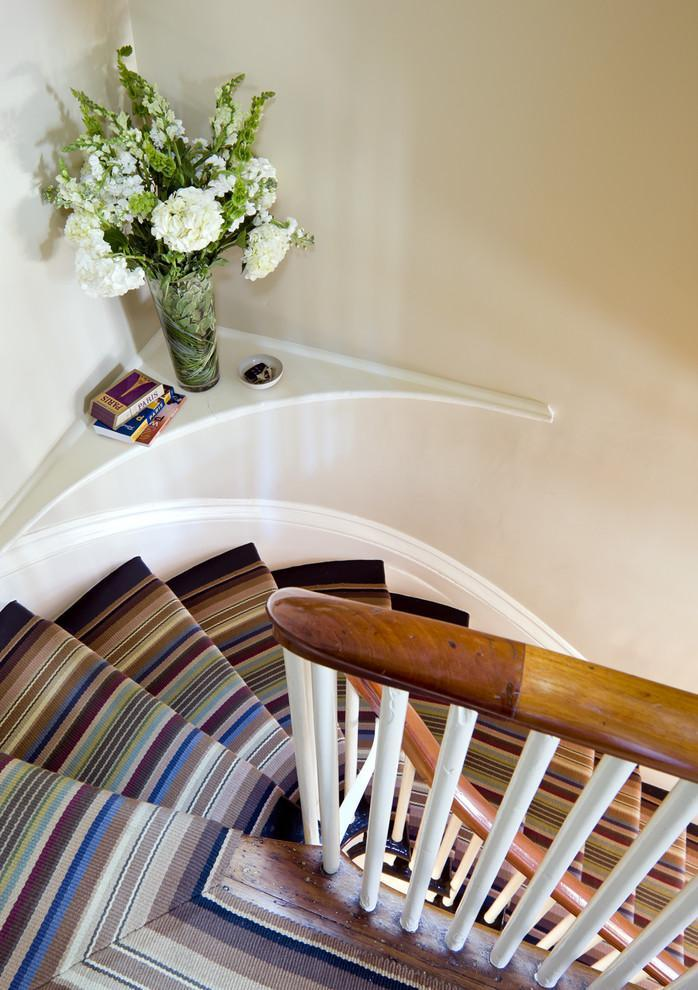 Natural stair runners - in Earth colors