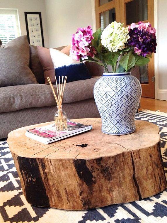 Natural Wood Coffee Tabler