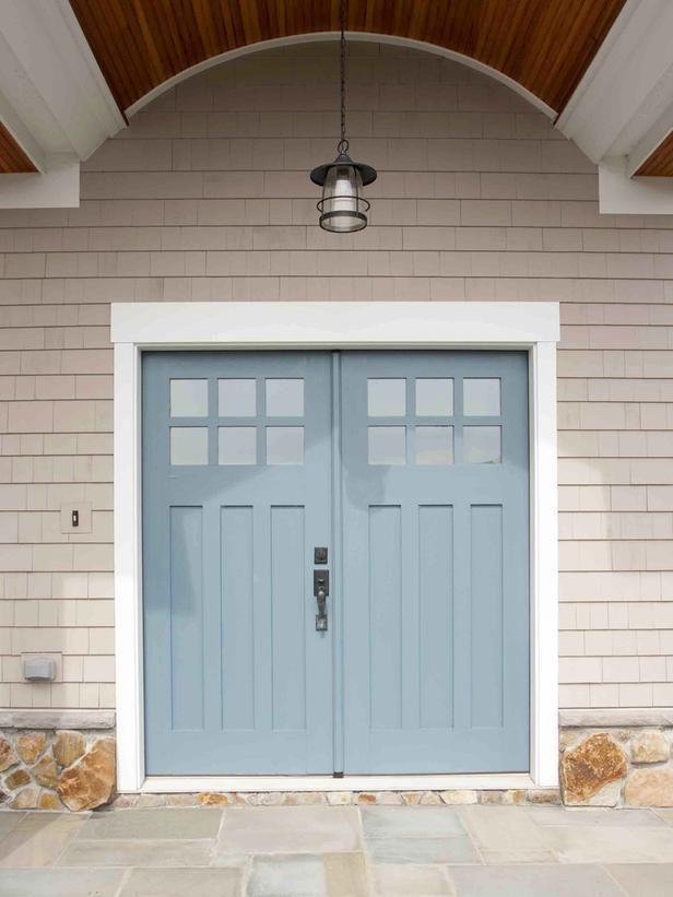 Front doors wood glass modern and double entry doors for Home double entry doors