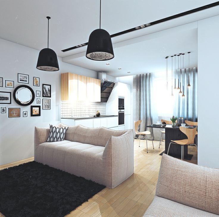 Modern Small Apartment And Studio Design Ideas