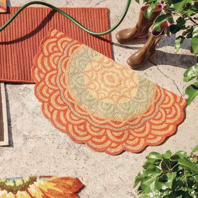 outdoor rugs  round, striped, braided and modern  founterior, outdoor round rugs, outdoor round rugs canada, outdoor round rugs discount