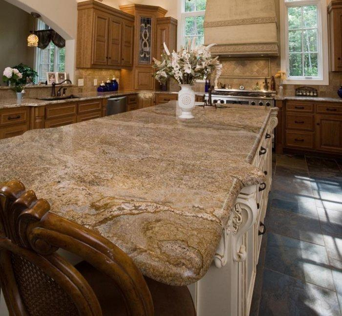 Granite countertops the top quality element in kitchens Copper countertops cost