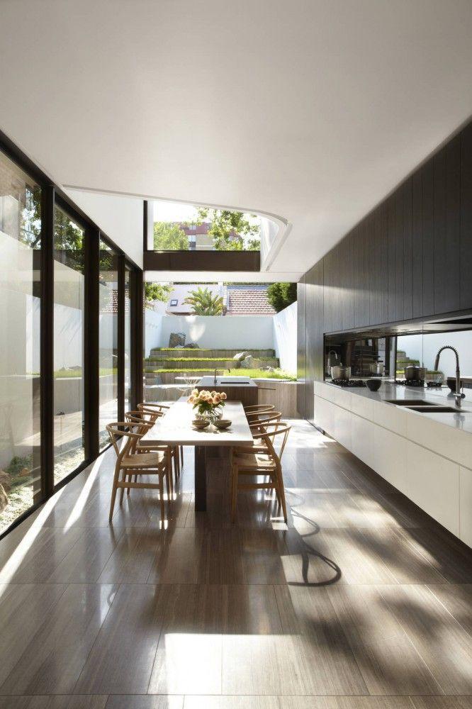 Spacious kitchen - with minimalist design