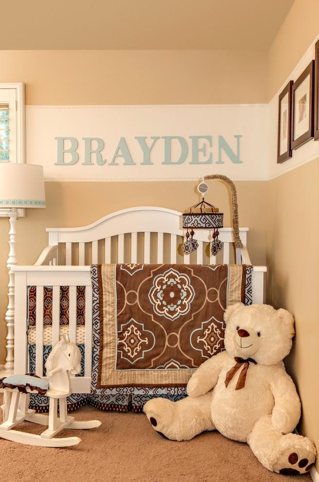 Sweet baby room - with giant teddy bear