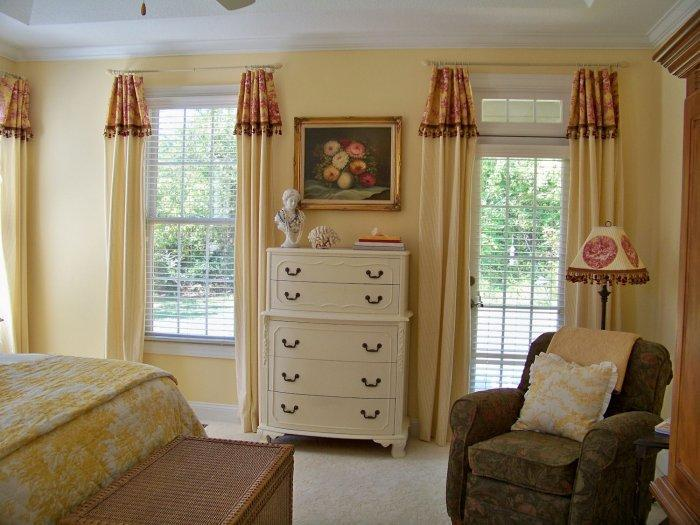 great curtains exles for bedroom use founterior 16052 | traditional curtains inside an american house bedroom