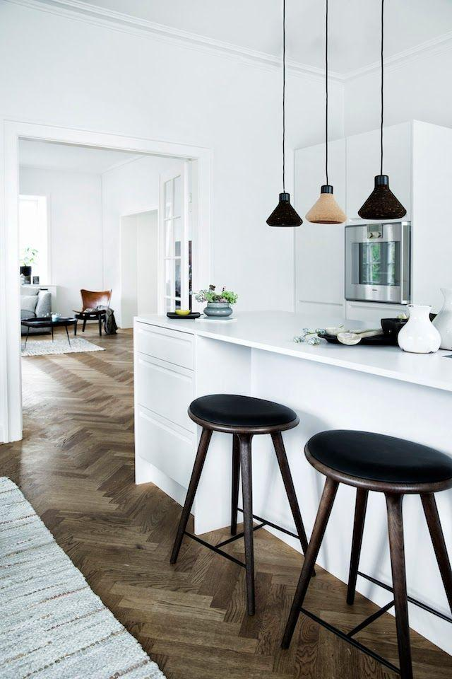 Kitchen interior design ideas for your home founterior for Modern scandinavian kitchen design